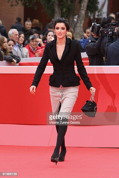 Actress Blanca Romero attends the 'After' Premiere during day 3 of the 4th Rome International Film Festival held at the Auditorium Parco della Musica...
