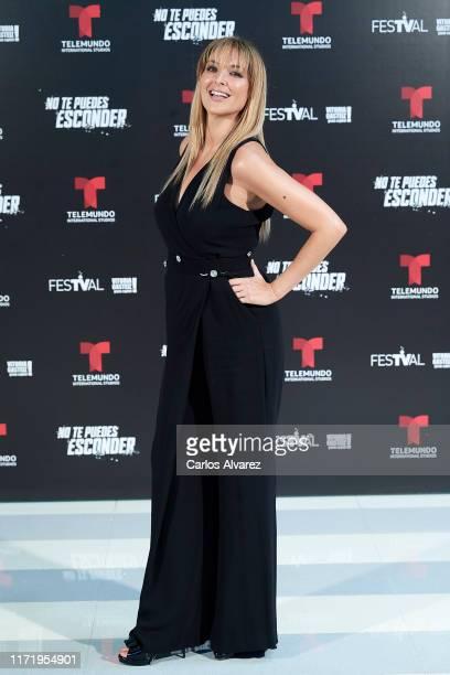 Actress Blanca Soto attends 'No Te Puedes Esconder' photocall at Palacio de Congresos Europa on September 03 2019 in VitoriaGasteiz Spain