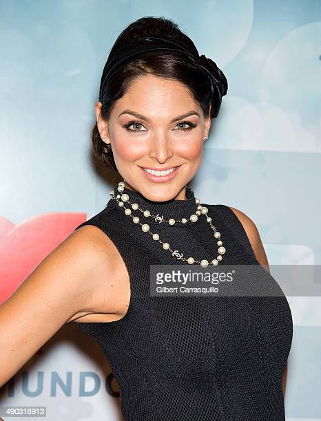 Actress Blanca Soto attends the 2014 Telemundo Upfront at Frederick P Rose Hall Jazz at Lincoln Center on May 13 2014 in New York City