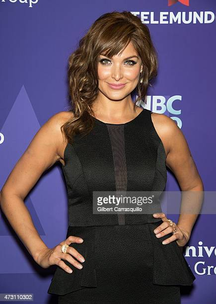 Actress Blanca Soto attends the 2015 Telemundo And NBC Universo Upfront at Frederick P Rose Hall Jazz at Lincoln Center on May 12 2015 in New York...