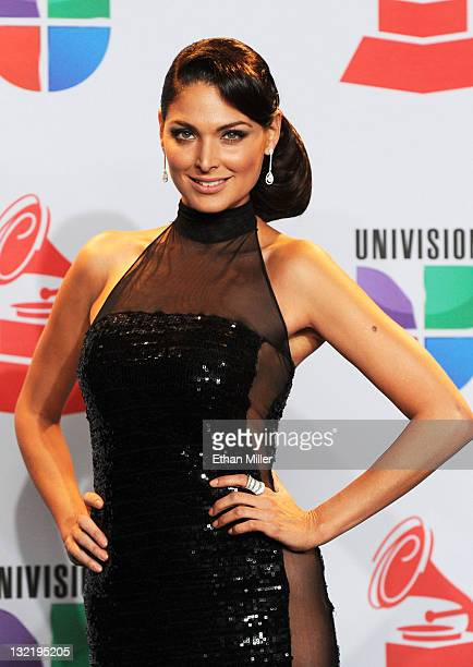 Actress Blanca Soto poses in the press room during the 12th annual Latin GRAMMY Awards at the Mandalay Bay Resort Casino on November 10 2011 in Las...
