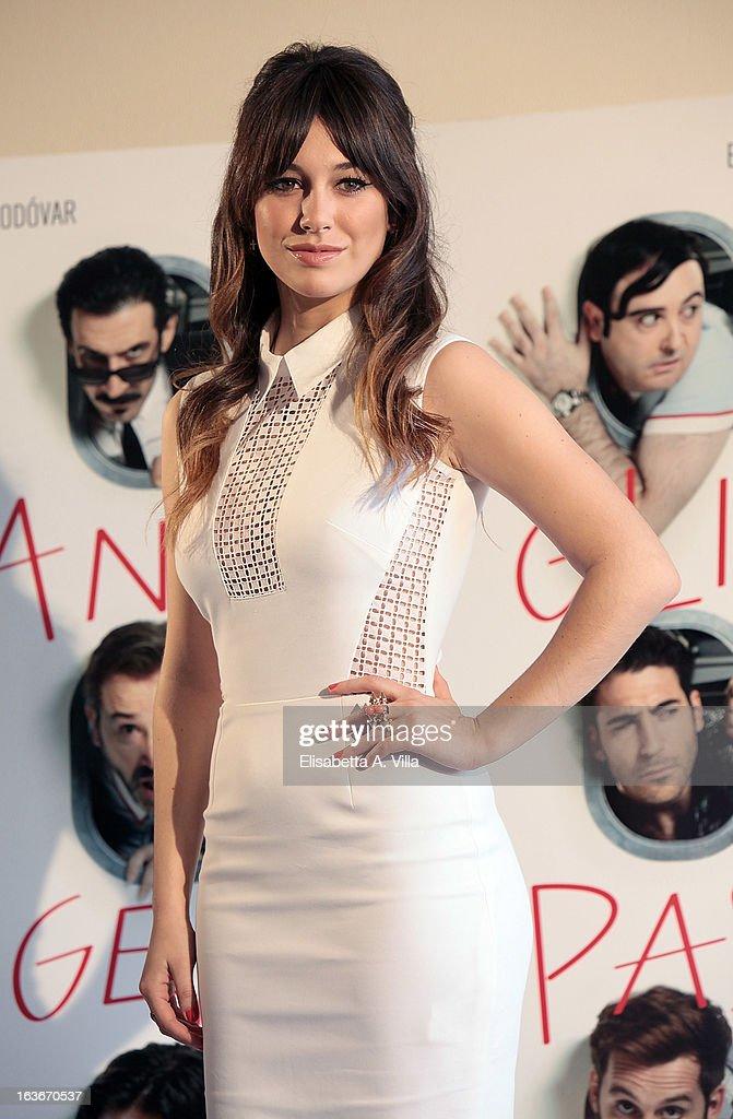 Actress Blanca Suarez attends 'Los Amantes Pasajeros' (Gli Amanti Passeggeri) photocall at Residence Ripetta on March 14, 2013 in Rome, Italy.