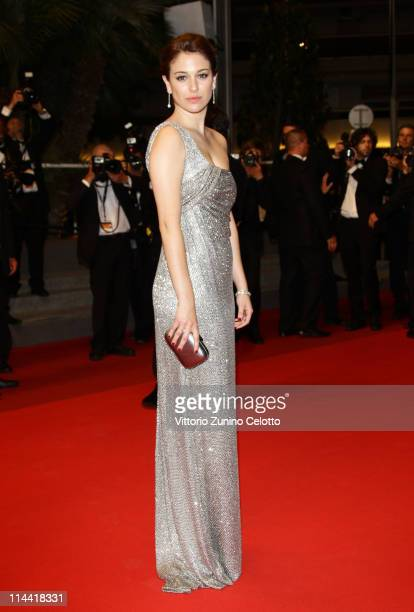 Actress Blanca Suarez attends the The Skin I Live In premiere at the Palais des Festivals during the 64th Cannes Film Festival on May 19 2011 in...