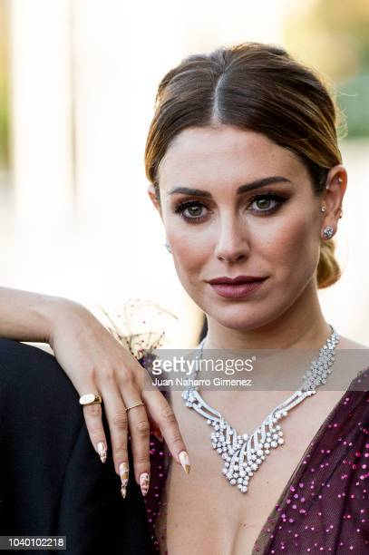 Actress Blanca Suarez attends the 'Tiempo Despues' premiere during the 66th San Sebastian International Film Festival on September 25 2018 in San...