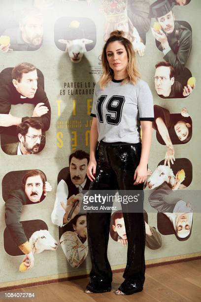 Actress Blanca Suarez attends 'Tiempo Despues' photocall at Urso Hotel on December 18 2018 in Madrid Spain