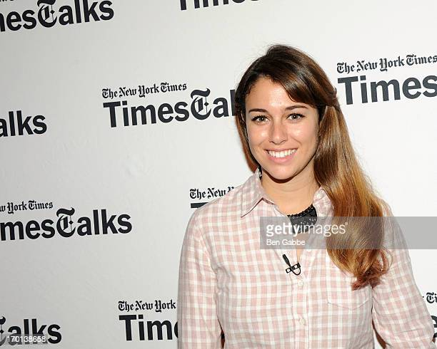 Actress Blanca Suarez attends TimesTalks Presents Pedro Almodovar at Times Center on June 7 2013 in New York City