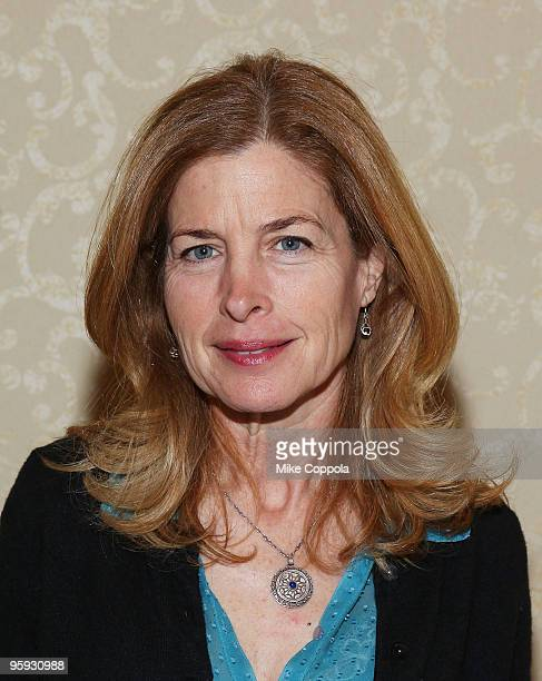 Actress Blanche Baker attends the Hoboken International Film Festival press conference at the Marriott Saddle Brook on January 21 2010 in Saddle...