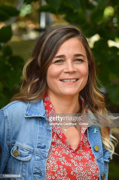 """Actress Blanche Gardin attends the """"Effacer L'Historique"""" Photocall at 13th Angouleme French-Speaking Film Festival on August 28, 2020 in Angouleme,..."""