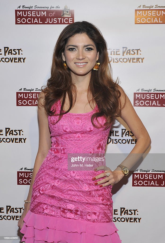 Actress Blanco Rosa Blaanca attends the screening of 'Weaving The Past: Journey Of Discovery' at the Linwood Dunn Theater at the Pickford Center for Motion Study on May 18, 2013 in Hollywood, California.