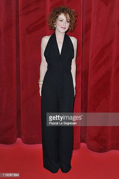 Actress Blandine Bellavoir arrives for the opening night of the 2011 Monte Carlo Television Festival held at Grimaldi Forum on June 6 2011 in...