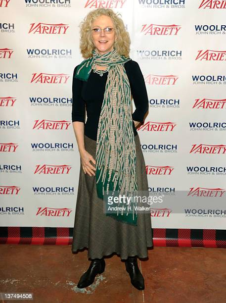 Actress Blythe Danner attends Day 1 of The Variety Studio at The 2012 Sundance Film Festival at Variety Studio on January 21 2012 in Park City Utah
