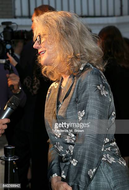 Actress Blythe Danner attends Max Mara Celebrates Natalie Dormer The 2016 Women in Film Max Mara Face of the Future at Chateau Marmont on June 14...