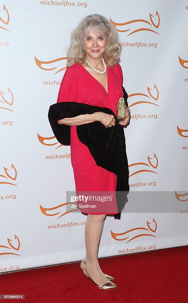 Actress Blythe Danner attends the 2016 A Funny Thing Happened On The Way To Cure Parkinson's at The Waldorf Astoria on November 12, 2016 in New York City.
