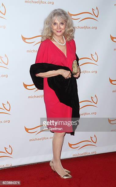 Actress Blythe Danner attends the 2016 A Funny Thing Happened On The Way To Cure Parkinson's at The Waldorf Astoria on November 12 2016 in New York...