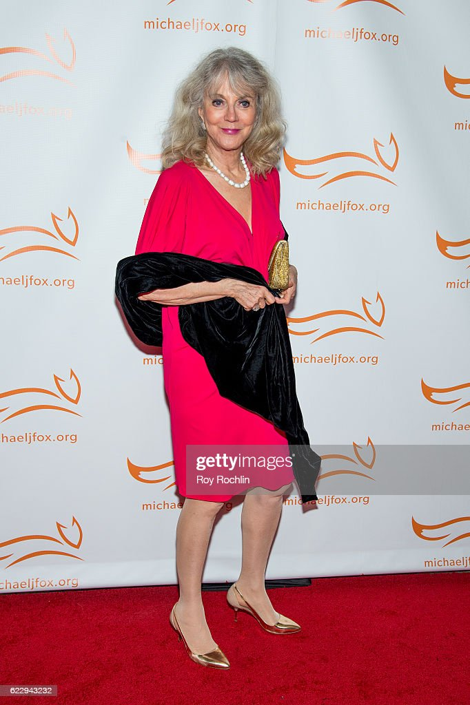 Actress Blythe Danner attends the 2016 A Funny Thing Happened On The Way To Cure Parkinson's at The Waldorf=Astoria on November 12, 2016 in New York City.