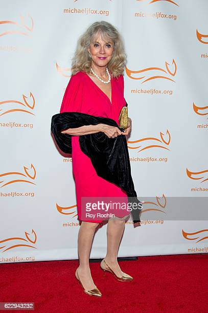 Actress Blythe Danner attends the 2016 A Funny Thing Happened On The Way To Cure Parkinson's at The Waldorf=Astoria on November 12 2016 in New York...