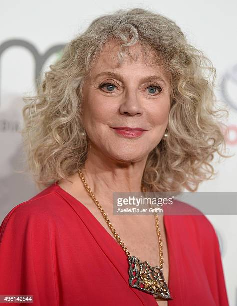 Actress Blythe Danner attends the 25th annual EMA Awards presented by Toyota and Lexus and hosted by the Environmental Media Association at Warner...