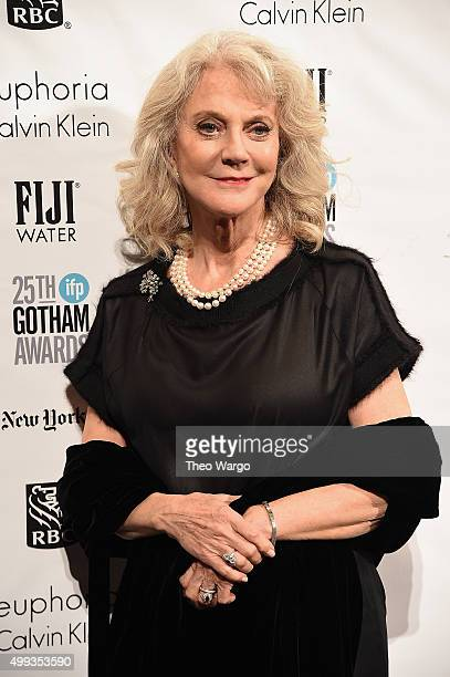 Actress Blythe Danner attends the 25th Annual Gotham Independent Film Awards at Cipriani Wall Street on November 30 2015 in New York City