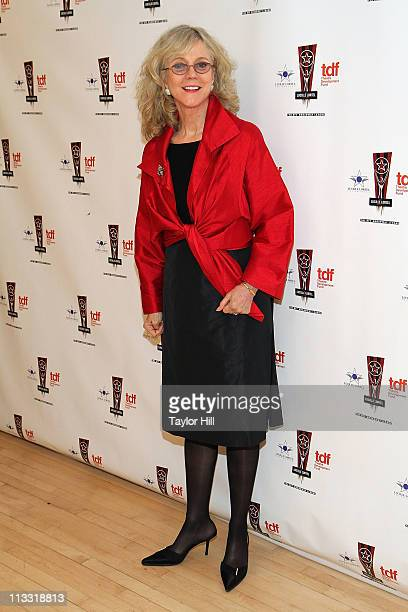 Actress Blythe Danner attends the 26th Annual Lucille Lortel Awards at NYU Skirball Center on May 1 2011 in New York City