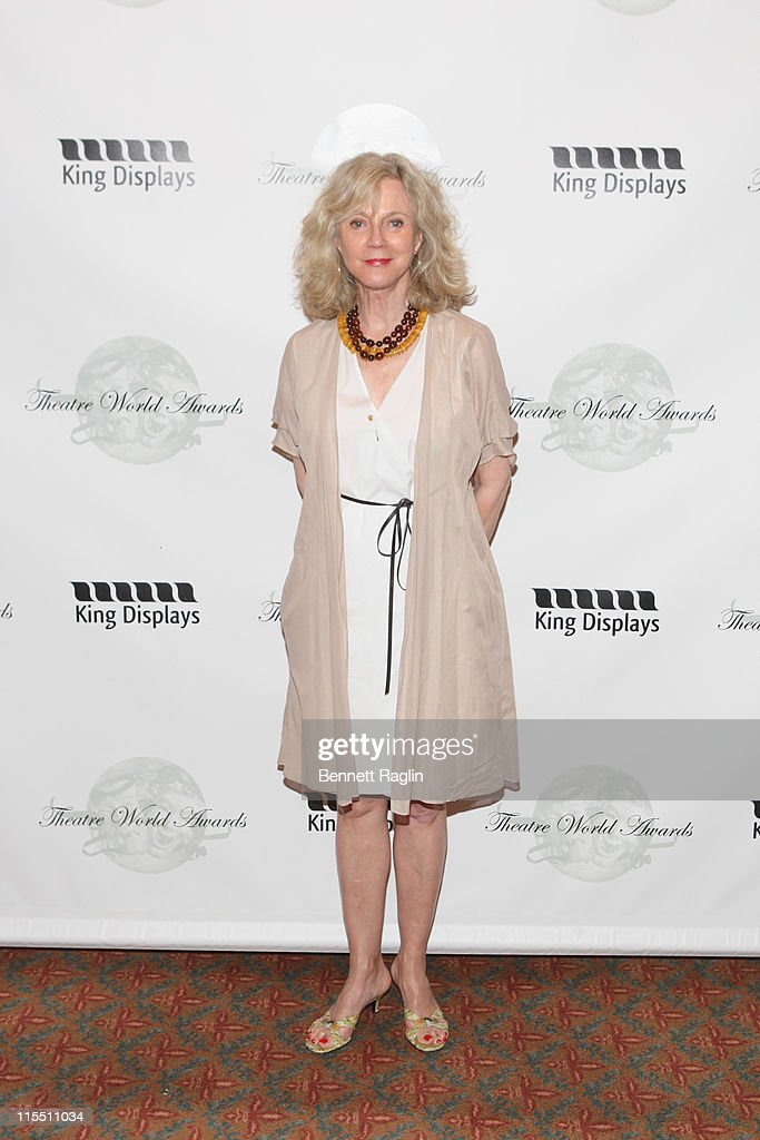Actress Blythe Danner attends the 67th annual Theatre World Awards Ceremony at the August Wilson Theatre on June 7, 2011 in New York City.