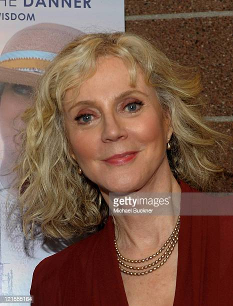Actress Blythe Danner attends the closing night screening of ''The Lightkeepers'' at the 2010 Palm Springs International Film Festival at the Palm...