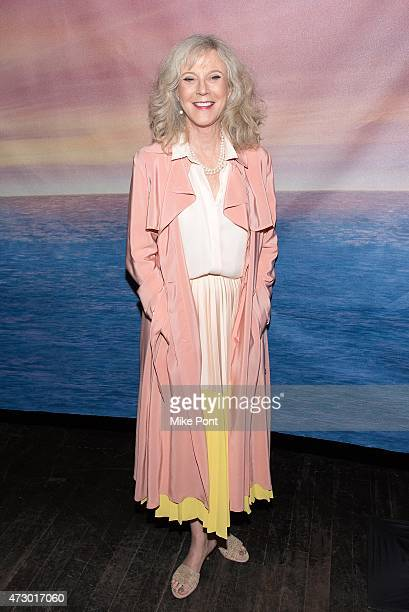 Actress Blythe Danner attends the I'll See You In My Dreams New York screening at Tribeca Grand Screening Room on May 11 2015 in New York City