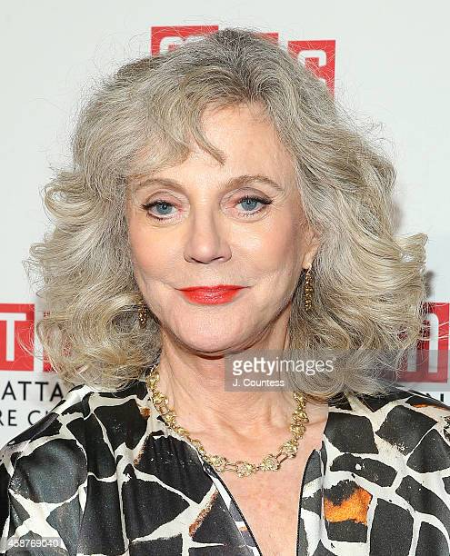 Actress Blythe Danner attends the Manhattan Theatre Club 2014 Fall Benefit at Frederick P Rose Hall Jazz at Lincoln Center on November 10 2014 in New...