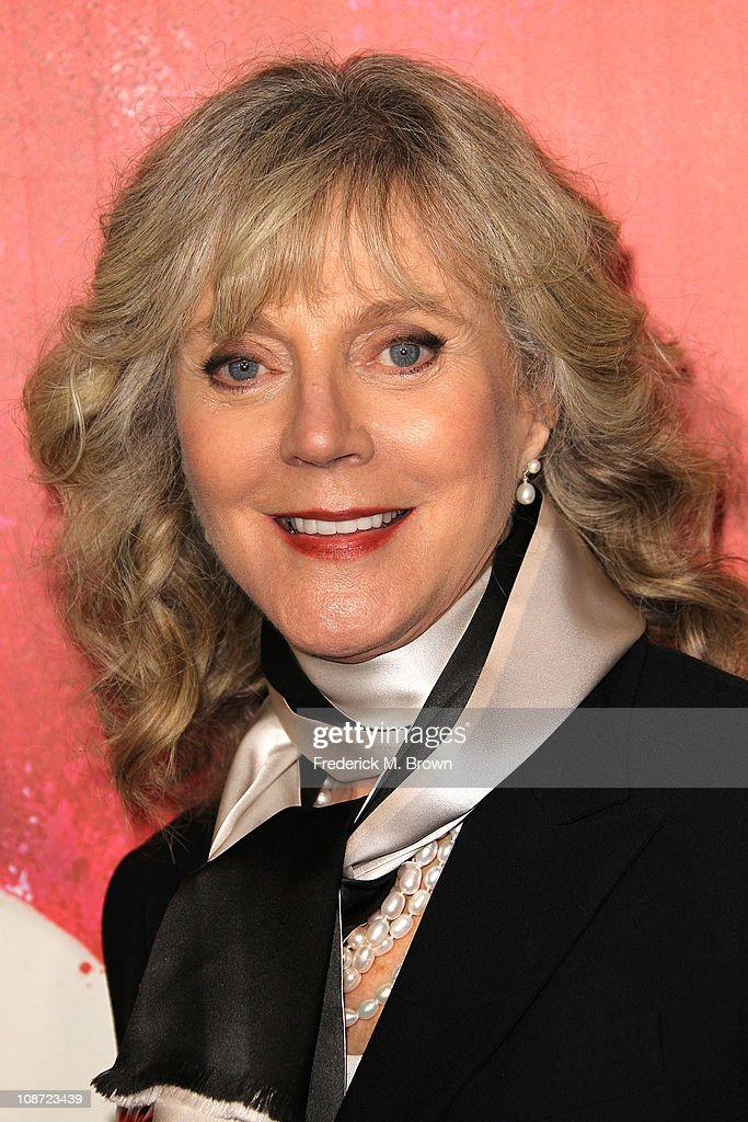 Actress Blythe Danner attends the premiere of 'Waiting For Forever' at The Pacific Theatres at the Grove on February 1, 2011 in Los Angeles, California.