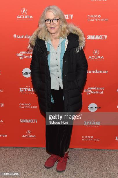 Actress Blythe Danner attends the What They Had Premiere during the 2018 Sundance Film Festival at Eccles Center Theatre on January 21 2018 in Park...