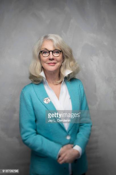 Actress Blythe Danner from the film 'Hearts Beat Loud' is photographed for Los Angeles Times on January 19 2018 in the LA Times Studio at Chase...