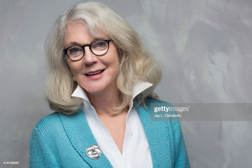 Actress Blythe Danner, from the film 'Hearts Beat Loud', is photographed for Los Angeles Times on January 19, 2018 in the L.A. Times Studio at Chase Sapphire on Main, during the Sundance Film Festival. PUBLISHED IMAGE.