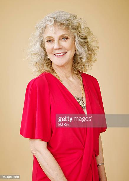Actress Blythe Danner is photographed at the 25th Annual EMA Awards Presented By Toyota And Lexus at Warner Bros Studios on October 24 2015 in Los...