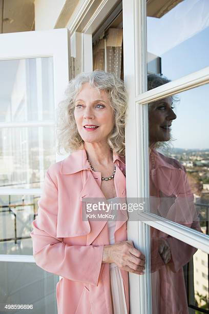 Actress Blythe Danner is photographed for Los Angeles Times on October 20 2015 in Los Angeles California PUBLISHED IMAGE CREDIT MUST READ Kirk...
