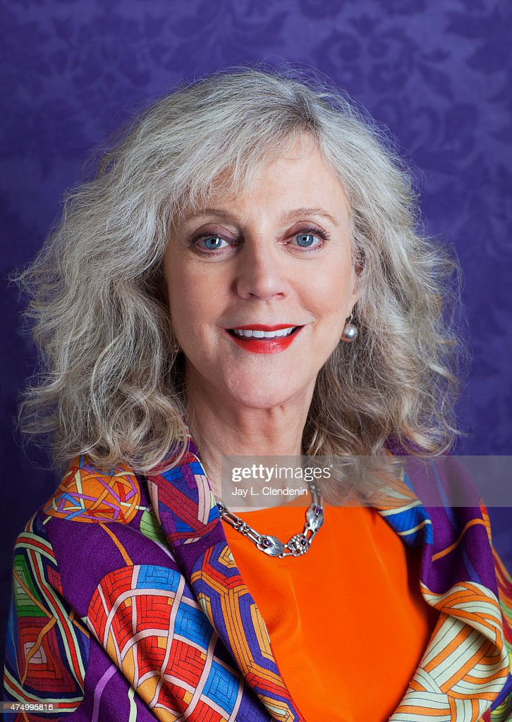 Actress Blythe Danner Is Photographed For Los Angeles