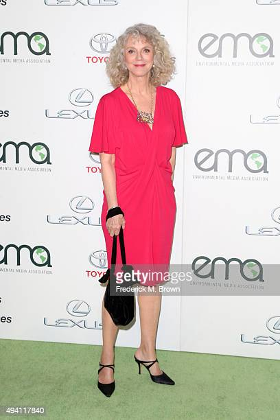 Actress Blythe Danner ttends the 25th annual EMA Awards presented by Toyota and Lexus and hosted by the Environmental Media Association at Warner...