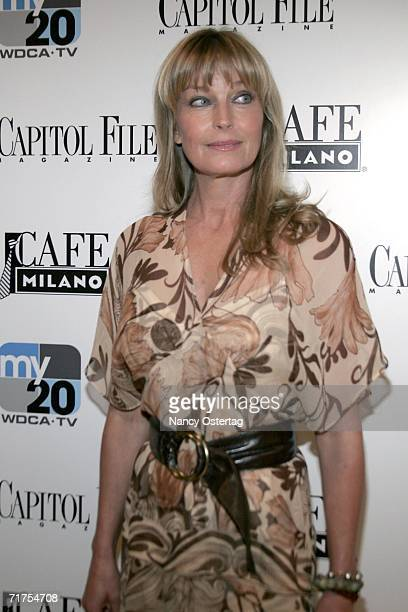 Actress Bo Derek arrives at the launch of MyNetwork TV, hosted by Capitol File at Cafe Milano August 30, 2006 in Washington, DC.