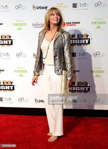 Actress Bo Derek attends Muhammad Ali's Celebrity Fight Night XXII at the JW Marriott Phoenix Desert Ridge Resort Spa on April 8 2016 in Phoenix...