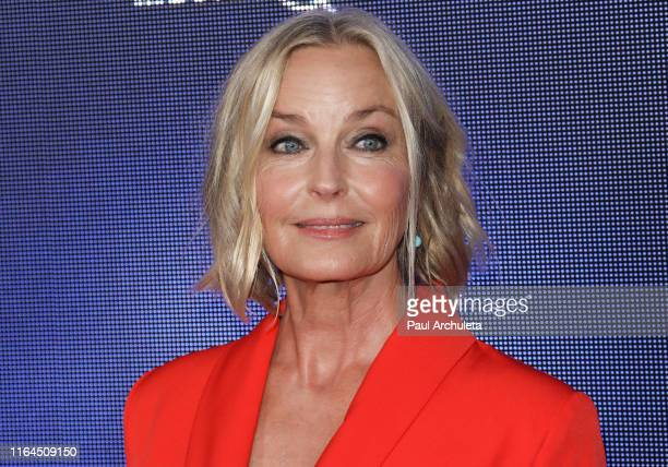 Actress Bo Derek attends the Hallmark Channel and Hallmark Movies Mysteries summer 2019 TCA press tour event at a Private Residence on July 26 2019...