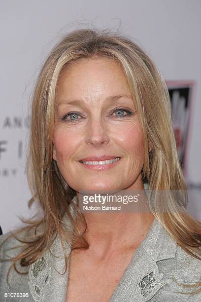 "Actress Bo Derek attends The Heart Touch Project's ""One Night, One Heart"" tribute dinner at the Sofitel Hotel on May 13, 2008 in Los Angeles,..."