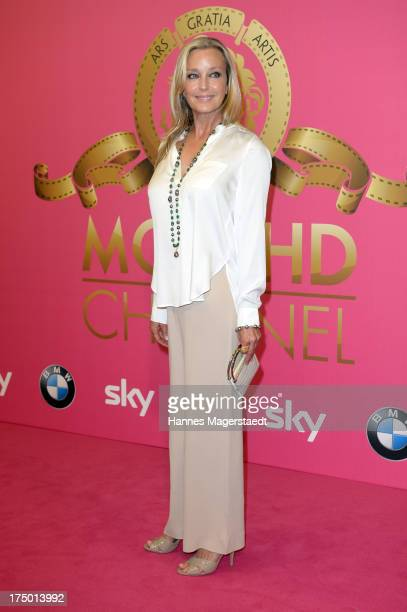 Actress Bo Derek attends the MGM HD CHANNEL Hollywood Sunset Party on July 29 2013 in Munich Germany