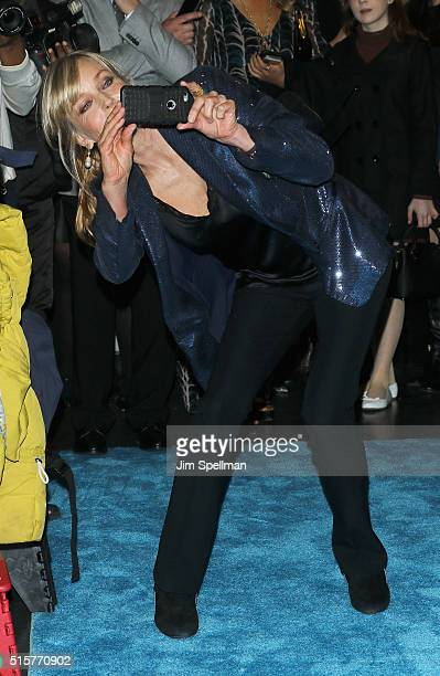 Actress Bo Derek attends the My Big Fat Greek Wedding 2 New York premiere at AMC Loews Lincoln Square 13 theater on March 15 2016 in New York City