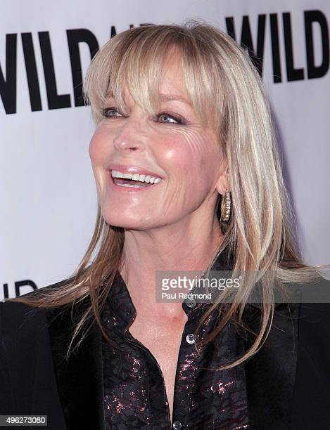 Actress Bo Derek attends WildAid 2015 at Montage Hotel on November 7 2015 in Beverly Hills California