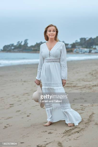 Actress Bo Derek is photographed for First for Women Magazine on March 4, 2020 in Santa Barbara, California.