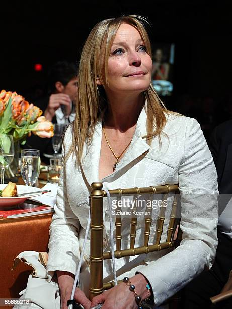 Actress Bo Derek looks on during Muhammad Ali's Celebrity Fight Night XV held at the JW Marriott Desert Ridge Resort Spa on March 28 2009 in Phoenix...