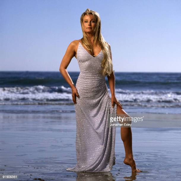 Actress Bo Derek poses for a photo session