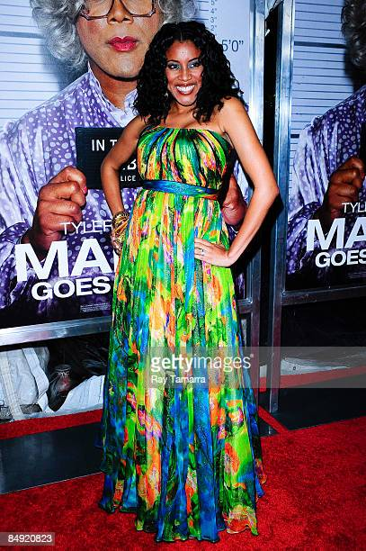 Actress Bobbi Baker attends a screening of Tyler Perry's Madea Goes to Jail at the AMC Loews Lincoln Center on February 18 2009 in New York City
