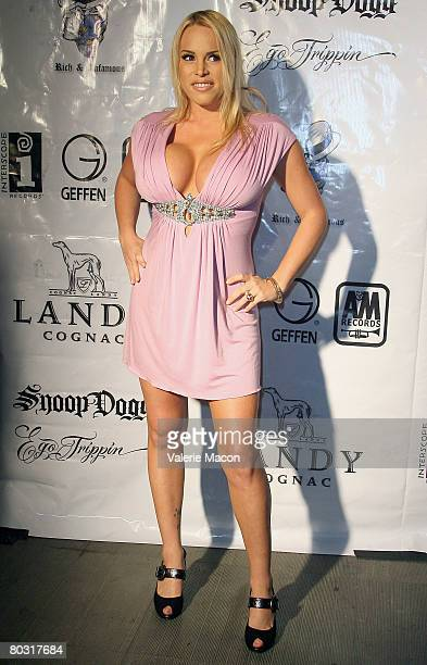 Actress Bobbi Billard attends MySpace Album Release Party for Snoop Dogg's Ego Trippin at the Opera Crimson on March 19 2008 in Hollywood California