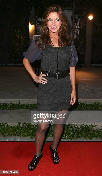 Actress Bobbie Eakes arrives at Kander Ebb's The World Goes 'Roundon October 7 2010 in Los Angeles California
