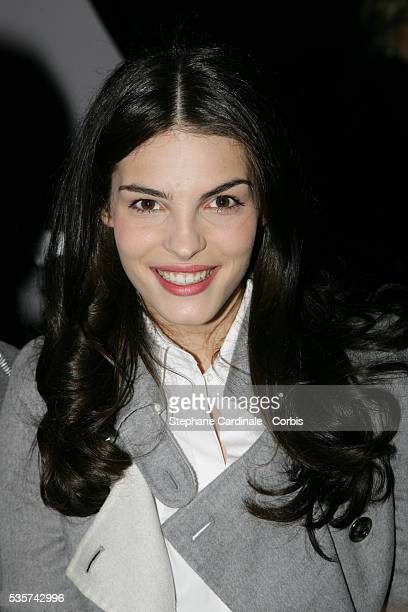 Actress Bojana Panic attends the Christian Dior Spring/Summer 20072008 Haute Couture fashion show during Paris Fashion Week