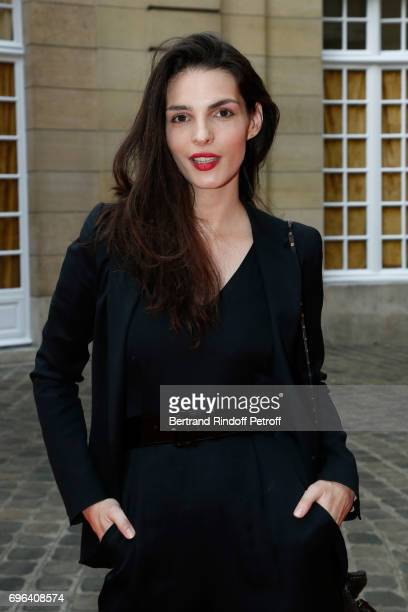 Actress Bojana Panic attends the JeanPaul Gaultier Scandal Fragrance Launch at Hotel de Behague on June 15 2017 in Paris France